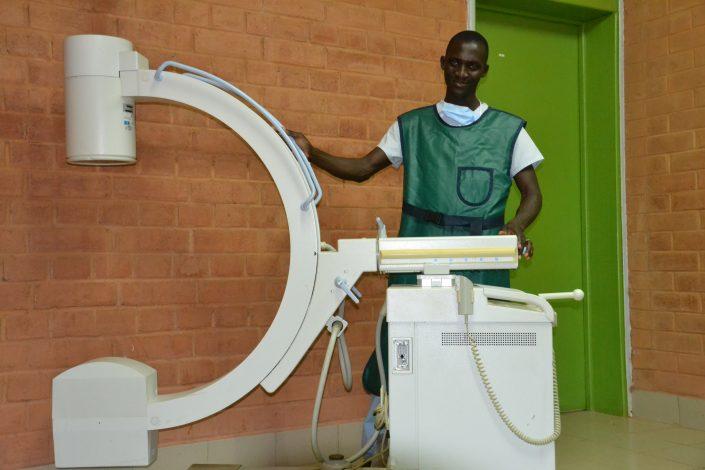 Appareil mobile de radiographie