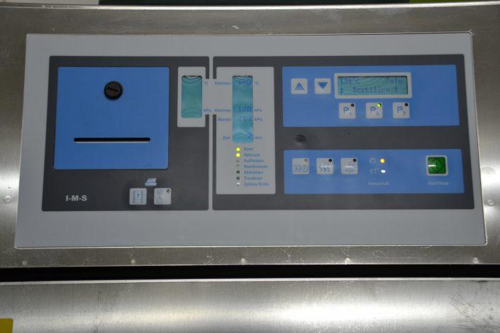 L'autoclave à commande de microprocesseurs